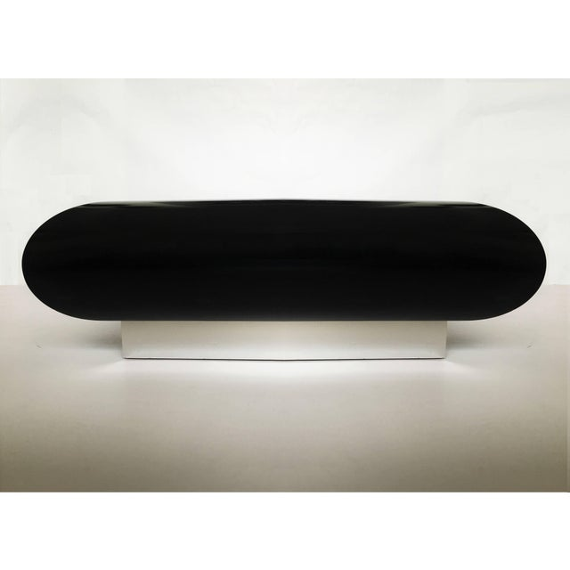 Spectacular Karl Springer Lacquer Coffee Table For Sale - Image 9 of 10