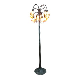 Lilly Bronze Floor Lamp For Sale