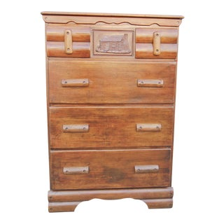 """Cabin"" Vintage Chest of Drawers"