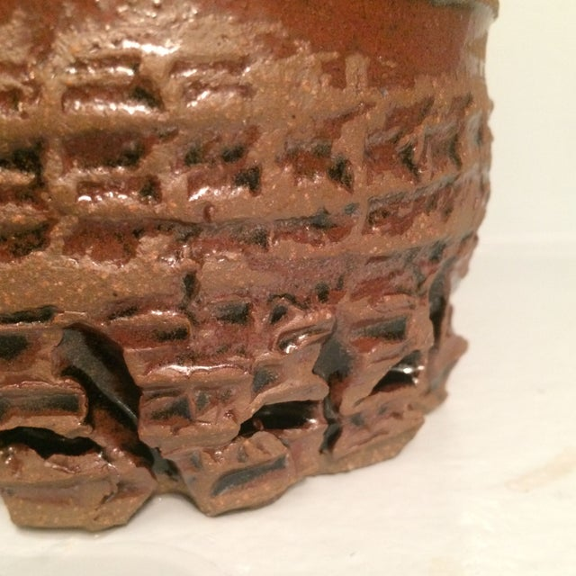 Glazed Ceramic Urn - Image 6 of 7