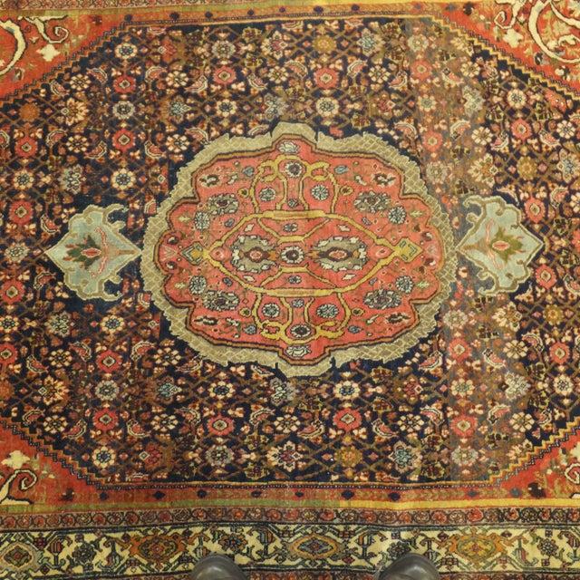 """Antique Persian Bijar - 7' X 4'7"""""""