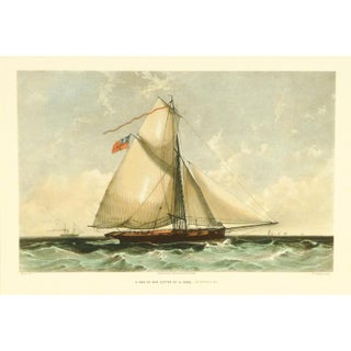 Cutter Ship Sail Boat Print For Sale