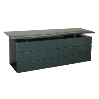 Sculptural Lacquered Dresser By Rougier For Sale