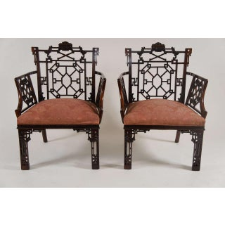 Chinese Chippendale Armchairs, Lord Leverhulme Preview