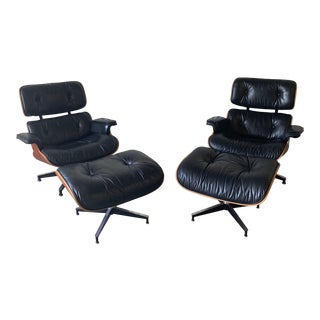 Eames for Herman Miller Lounge Chair and Ottoman For Sale