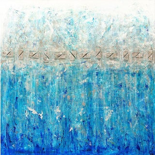 Contemporary January Series Abstract Painting For Sale