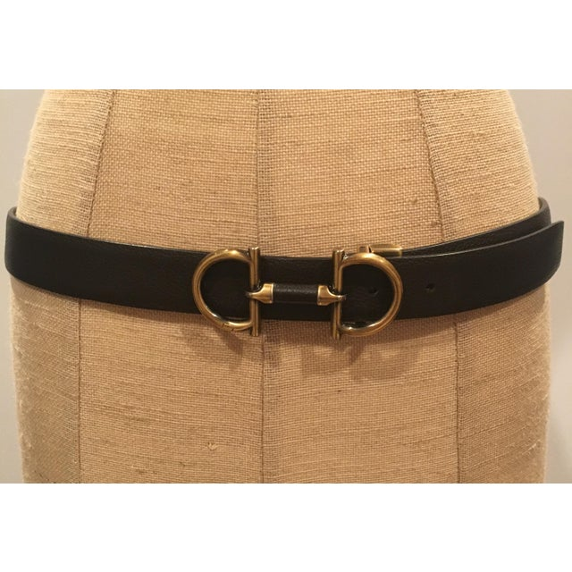How To Tell If A Ferragamo Belt Is Real >> Vintage Ferragamo Belt With Removable Buckle