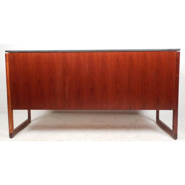 Jens Risom Mid-Century Marble Top Sideboard - Image 6 of 9