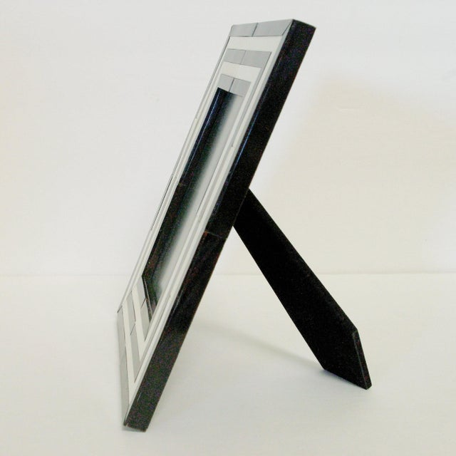 2010s Black and White Horn Photo Frame by Fabio Ltd For Sale - Image 5 of 7