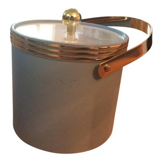 Modern Blue Ice Bucket