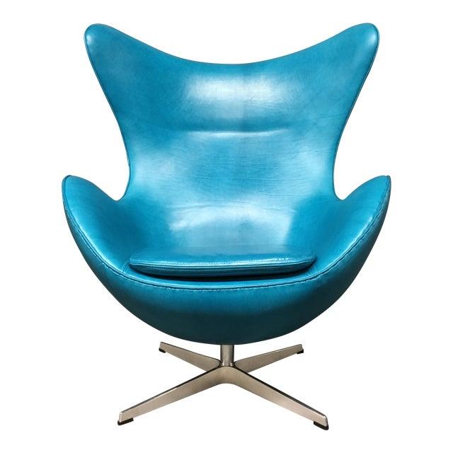 Fritz Hansen Arne Jacobsen Egg Chair For Sale