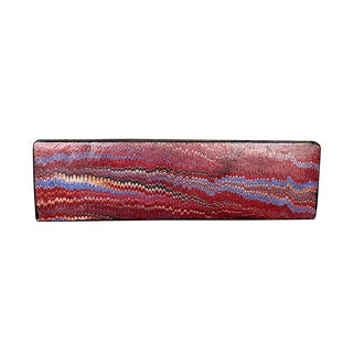 Antique Victorian Gutta Percha Pen Pencil Box For Sale