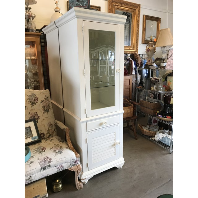 Broyhill Furniture Beach Cottage Style Cabinet For Sale In West Palm - Image 6 of 11