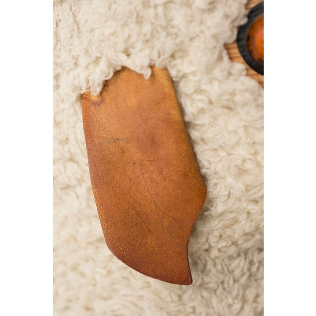 Life-Sized Sheep in Sheepskin and Beech, Germany, 1970s For Sale - Image 11 of 13