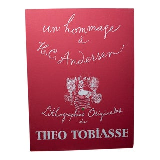 Theo Tobiasse Hans Christian Andersen Sagor Original Color Lithographs - Suite of 18 For Sale