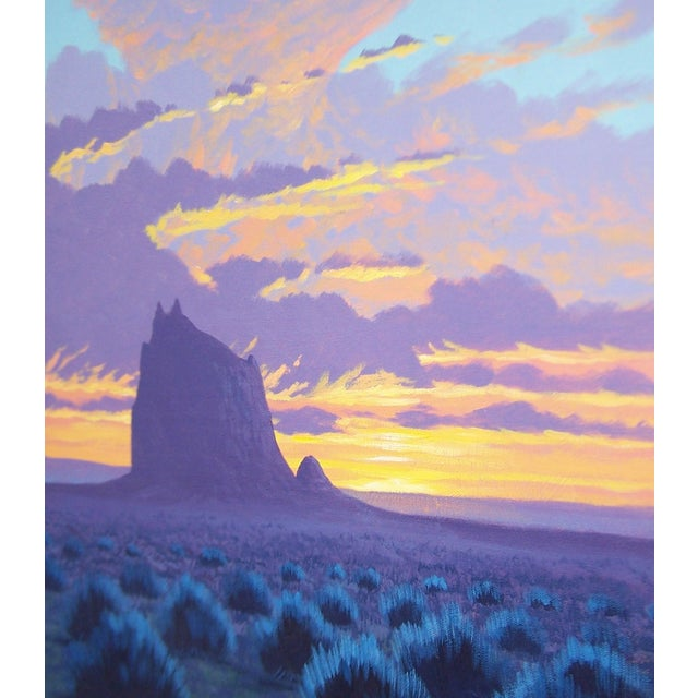 Original Navajo Painting by Fred Cleveland - Image 8 of 11
