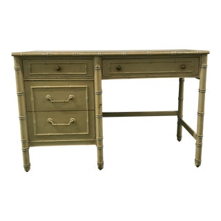 Thomasville Faux Bamboo Desk