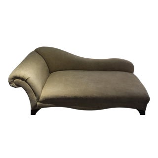 Elegant Upholstered Chaise Lounge