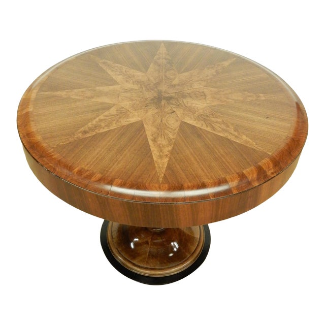 Unusual Inlaid Art Deco Table For Sale