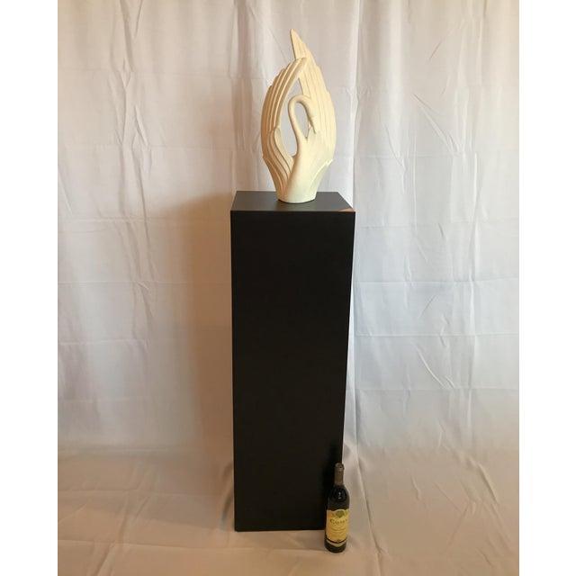 Mid-Century Modern 1970s Mid Century Modern Pedestal Display Stand Pillar For Sale - Image 3 of 7