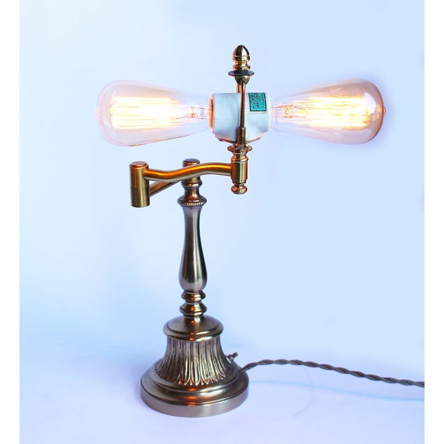 Vintage Baker Piano Lamp - Image 3 of 5