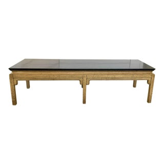 Hollywood Regency Asian Coffee Table For Sale