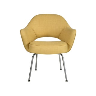Vintage Saarinen Executive Armchair - Yellow For Sale