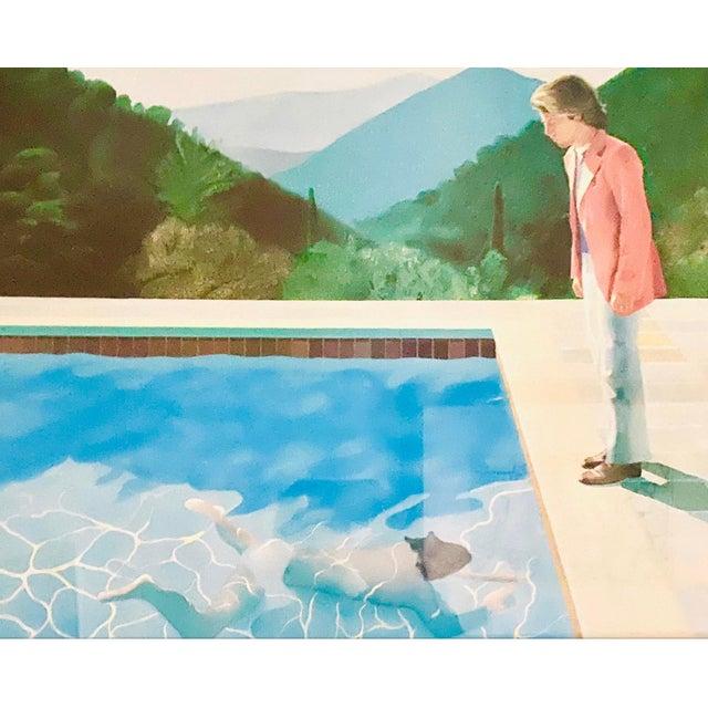 "Original Exhibit Poster ""David Hockney: A Retrospective"" Metropolitan Museum of Art 1988 For Sale - Image 9 of 11"