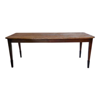 19th Century Pine Table For Sale