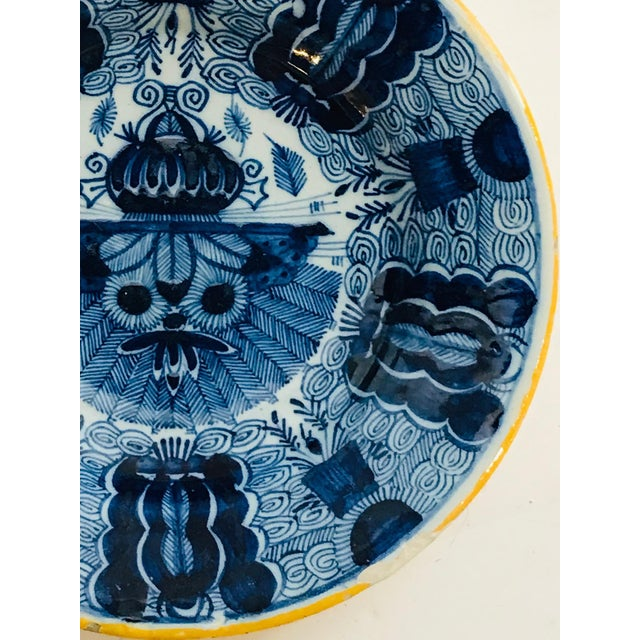 18thc Delft Plate