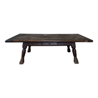 19th C. Rustic Coffee Table From Switzerland For Sale