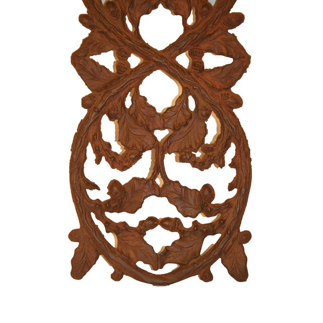 Early 1900's Wrought Iron Wall Decor - Image 4 of 4