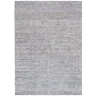 Pasargad Transitiona Silk & Wool Area Rug - 10′1″ × 14′2″ For Sale