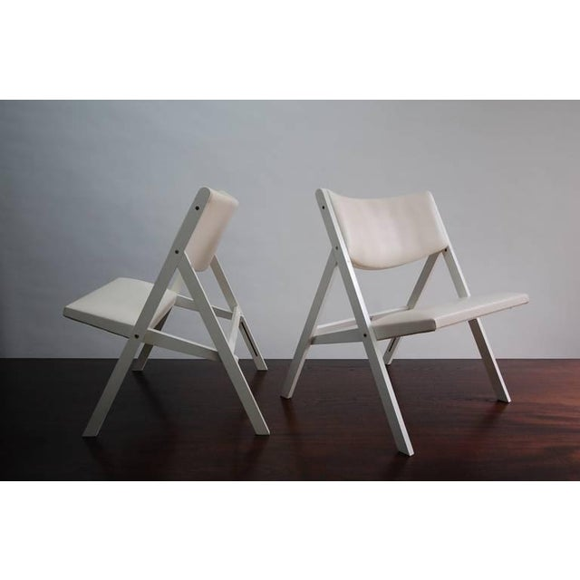 """Pair of Gio Ponti """"Chair of Little Seat"""" Chairs For Sale - Image 9 of 9"""