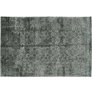 Stark Studio Rugs Traditional New Oriental Tibetan Silk Rug - 6′ × 9′ For Sale