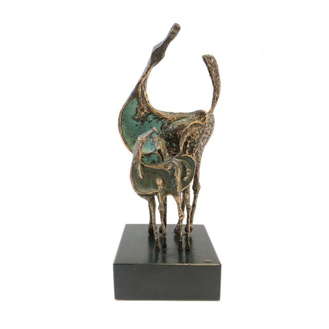 Bronze Horses Sculpture by Curtis Jere For Sale - Image 9 of 10