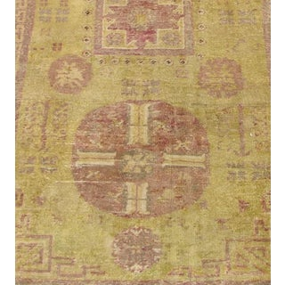 Early 20th Century Antique Khotan Handmade Rug - 3′8″ × 7′5″ - Size Cat. 3x5 4x6 5x7 Preview