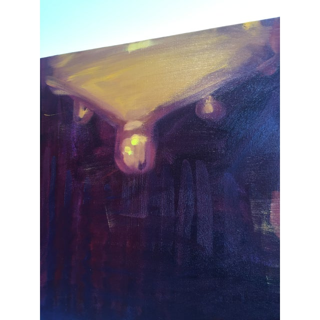 """2010s Sheldon Greenberg """"Chandelier"""" Contemporary Painting For Sale - Image 5 of 8"""