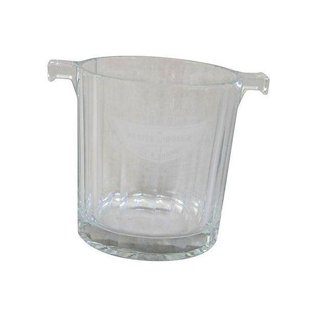 Crystal Glass Moet Chandon Bottle Bucket Chiller - Image 5 of 5