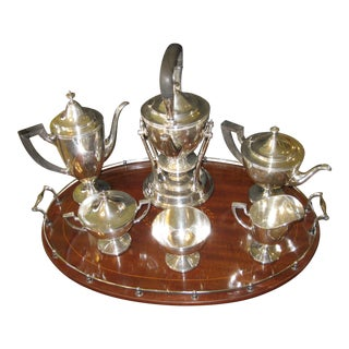 Tiffany & Co. Makers Sterling Coffee & Tea Set - 8 Pieces For Sale