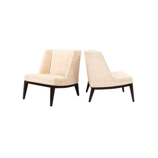 Edward Wormley for Dunbar Lounge Chairs For Sale