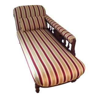 19th Century Antique Victorian Chaise