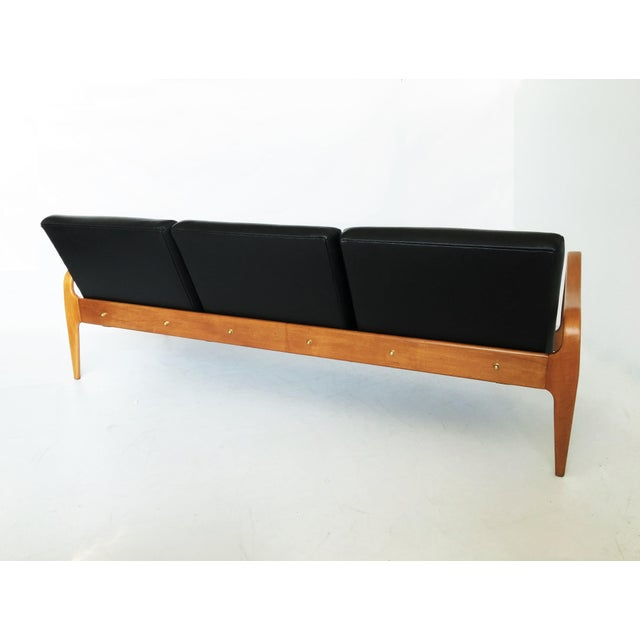 Pair of Modernist Thonet Bentwood Sofas For Sale - Image 12 of 13