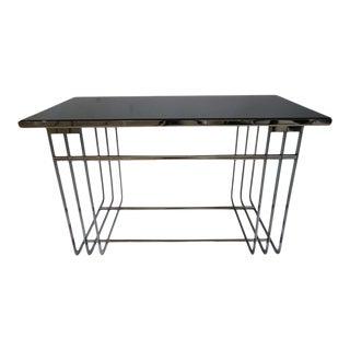 Art Deco 1930s Donald Deskey Cocktail Table Streamline Moderne Machine-Age For Sale