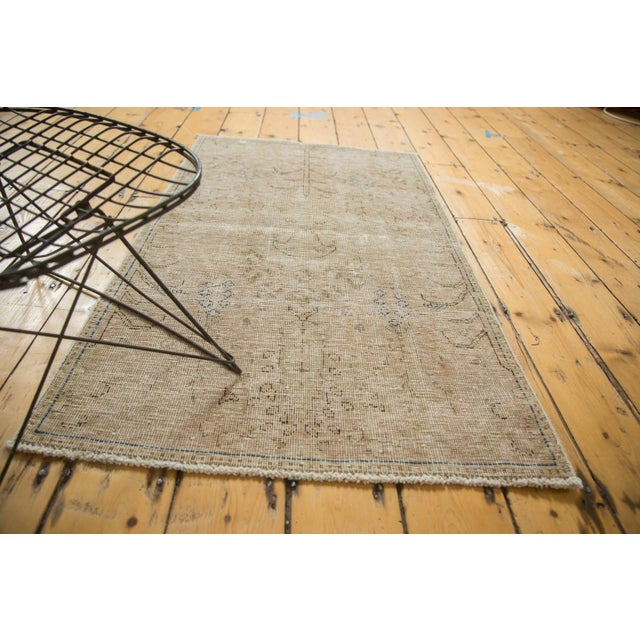 """Islamic Vintage Distressed Meshed Rug - 2'5"""" X 4'3"""" For Sale - Image 3 of 10"""