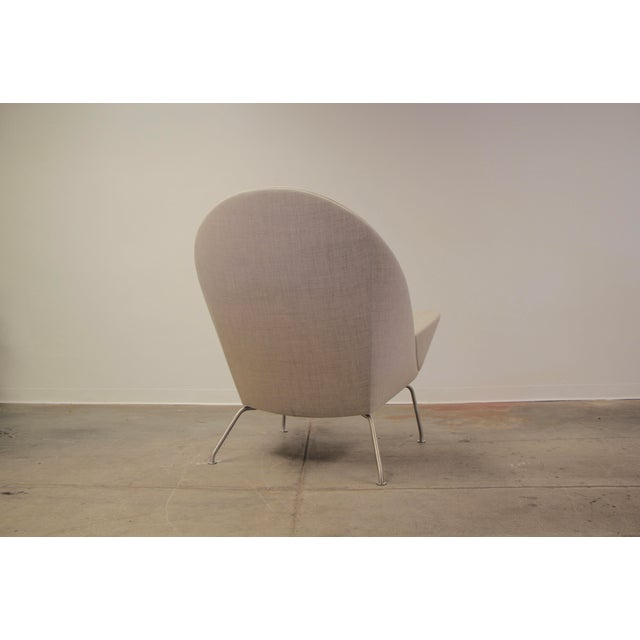 2010s Hans Wegner Oculus Lounge Chair For Sale - Image 5 of 12