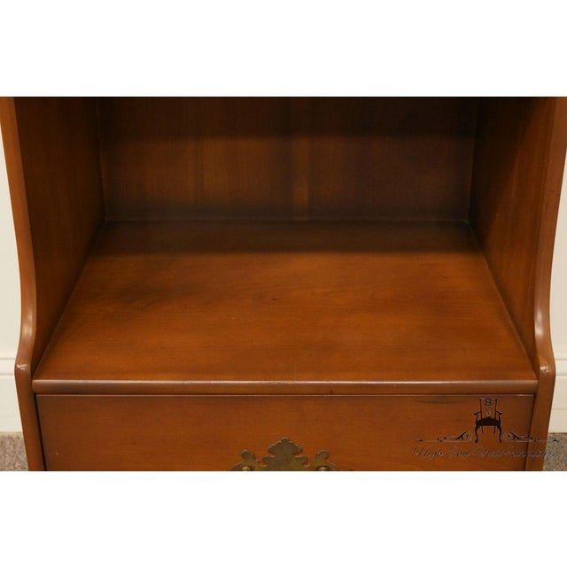 "Kindel Grand Rapids Solid Cherry 20"" Nightstand For Sale In Kansas City - Image 6 of 13"