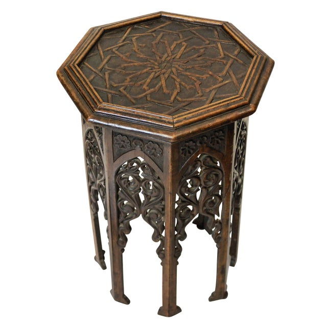 Islamic A 19th Century Moorish Table For Sale - Image 3 of 4