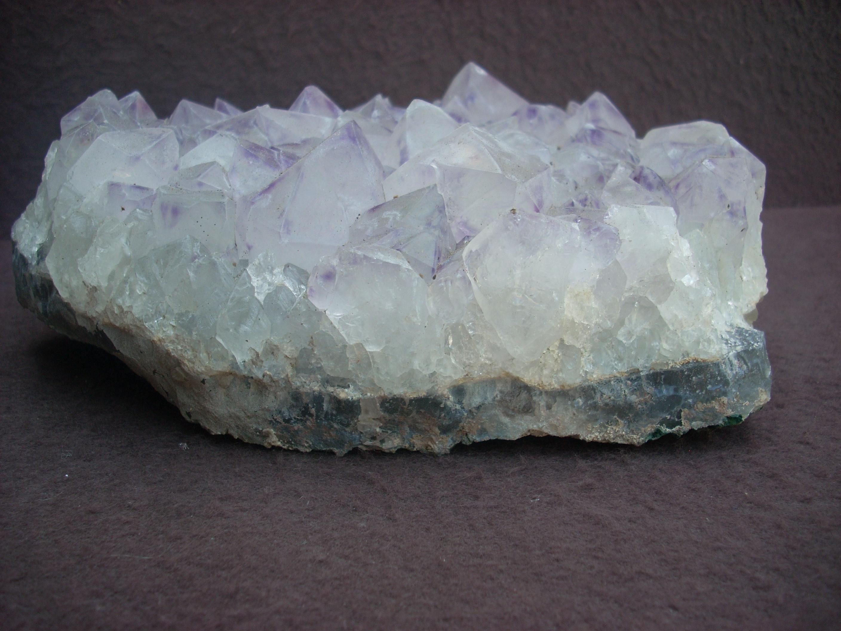 how to clear or cleanse amethyst crystal
