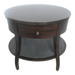 Kosta Furniture 2 Tier Designer Accent Table For Sale